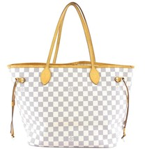 #33183 Louis Vuitton Neverfull New Model Classic Mm Tote Work Shoulder Bag - $950.00