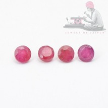 3mm Natural Ruby Round Faceted Cut 5 Pieces AA Quality Loose Gemstone Lo... - $30.37