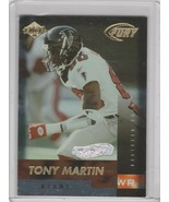 1999 Collector's Edge Fury Galvanized #92 Tony Martin /500 Dolphins - $1.71