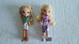 Lot of 2 Beautiful Bratz Dolls with Clothes, Shoes Ship Fast - $14.99