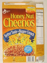 MT General Mills Cereal Box HONEY NUT CHEERIOS 1996 6.5oz Better Taste [... - $5.76