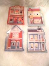 Hallmark Blank Cards Victorian House Fire Station Diorama Rare - $18.42