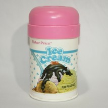 Vintage Fisher Price Fun with Food Ice Cream Container EMPTY 1987 Play T... - $12.38