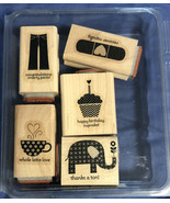 Stampin' Up! - PATTERNED OCCASIONS - Set of Rubber Stamps - NEW - $2.66