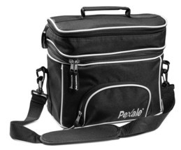 Double Compartment Cooler Insulated Lunch Bag Food Container Lunch Box B... - $17.18