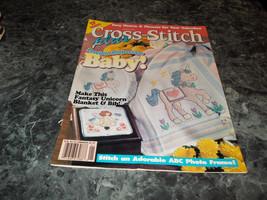 Cross Stitch Plus January 1995 Magazine Teddy Bear Nursery Set - $2.69
