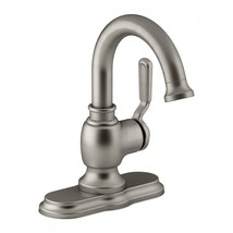 Worth Single Hole 1-Handle Bathroom Faucet in Vibrant Brushed Nickel - $57.38