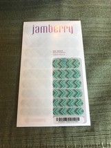 Nail Art Heated Nail Wraps Jamberry SX201602 Pattern Envy Full Sheet O916 - $6.94
