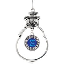 Inspired Silver Light It Up Autism Awareness Circle Snowman Holiday Chri... - $14.69