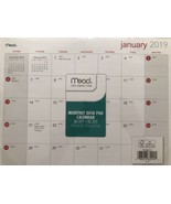 "Mead Jan to Dec 2019 Monthly Desk Pad Calendar 11"" x 8.5"" - $8.89"