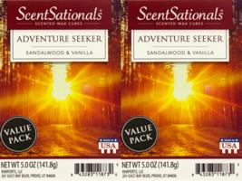 ScentSationals Adventure Seeker Wax Cubes - 2-Pack - $24.45
