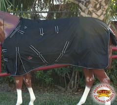 Hilason 1200D Miniature & Pony Horse Blanket Waterproof Turnout Black U-MINI - $59.95