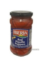 Iberia Fancy Red Piquillo Peppers Pimiento Piquillo Each Jar 10.2 Ounces - $11.87
