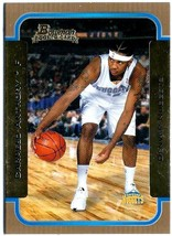 Carmelo Anthony RC 2003-2004 Bowman Gold Variant Rookie Card#140 GEM MIN... - $9.89