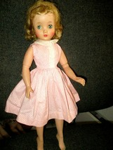 1958  Madame Alexander Elise Strawberry Blonde Jointed Doll Pink Shirt D... - $173.25