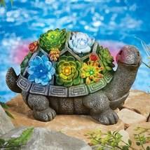 Turtle Garden Statue Solar Lighted Decoration - $33.66