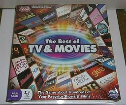 Spin Master New Factory Sealed The Best of TV & Movies Boardgame - $22.46