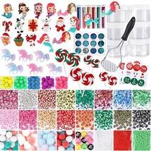 Habbi Christmas Slime Supplies Kit, Kids Slime Kit with Foam (Christmas-1) - $17.77