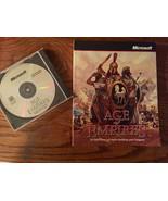 Age Of Empires I - MicroSoft - 1997  CD w/ Manual - Windows 95  - $59.39