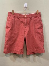 Polo by Ralph Lauren Men's Red Flat Front Chino Shorts Size 30 - $27.25