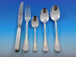 Malmaison by Christofle Silverplate Flatware Service 12 Set 70 Pieces Fr... - $4,995.00