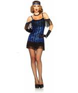 LEG AVENUE ADULT WOMENS GREAT GATSBY FLAPPER DANCER HALLOWEEN COSTUME  X... - $44.99