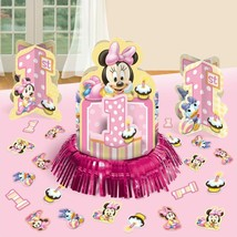 Minnie Mouse | Centerpiece Table Decorating Kit |  Birthday Party Supply - $13.09