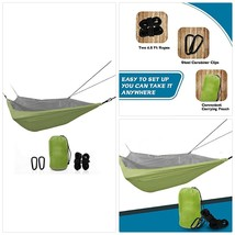 ETCBUYS Two Person Camping Hammock - Lightweight Nylon Portable Hammock,... - $33.24