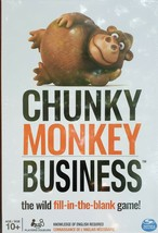 Chunky Monkey Business -The Wild Fill-in-the-Blank Card Game (New in Box/Sealed) - $19.99