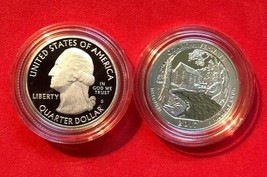 2017 S OZARK RIVERWAYS SILVER PROOF DEEP CAMEO ATB NATIONAL PARK IN COIN... - $8.60