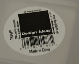 Design Ideas 75141F Frosted White Chinese Takeout Box Candle Holder image 4