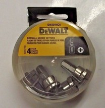 DeWALT DW2014C4 Drywall Screw Setter Bit Tip 4 Tips Per Pack - $4.06