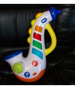 Hap-p-Kid Happy Kid Toy Musical Saxophone With Lights, Sounds & Tunes - $24.70