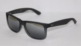 Ray-Ban Sunglasses Justin 4165 852/88 55 Gray Silver Gradient Mirrored B... - $89.49