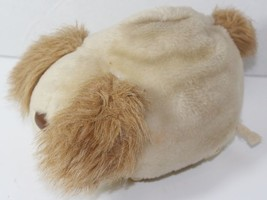 Vintage TOMY PUMP AND ROLL Stuffed Plush Animal DOG TOY Cute Ears COVER ... - $15.58