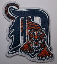 """Detroit Tigers Embroidered PATCH~3 1/8"""" x 3 5/8""""~Iron Sew On~MLB~Ships FREE - $4.75"""