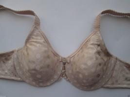 Wacoal 855285 Spot On Full Figure UW Bra Beige, Nude 32D MSRP $65 - $28.21
