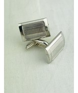 Vintage Dunhill Cufflinks Sterling Silver .925 England Cuff Links Rectan... - $182.40