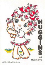 Hallmark   HUGGINS & HUG-A-BYE  1984 Child's Water Painting Postcard - $3.70