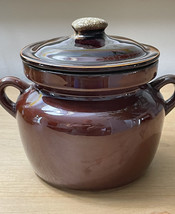 Vintage McCoy 9189 Pot with lid and handles image 10