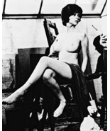 Gabrielle Drake UFO TV series star poses naked 8x10 B&W Photo - $9.75
