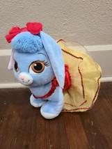 Build A Bear Disney Palace Pet Blueberry Plusb Bunny Snow White Dress & Bow - $19.34