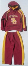 Kids USC Trojans NiKE Red & Gold Hoodie Sweatshirt and SweatPants Size 6 - $46.53