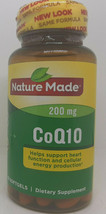 Nature Made CoQ10 200 mg Naturally Orange 40 Softgels  Exp 08/2022 SEALED - $12.82
