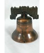 Copper Philadelphia Liberty Bell Souvenir Bell - $3.77