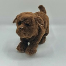 Retired Hasbro FurReal Friends Pets Newborn Chocolate LAB Labrador DOG 2008 - $29.69