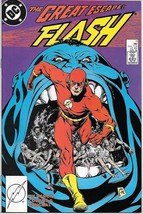 The Flash Comic Book 2nd Series #11 DC Comics 1988 VERY FN/NEAR MINT NEW... - $3.50