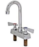 """Commercial Bar 4"""" Deck Mount Faucet W/5"""" Gooseneck Spout #AA-422G (NO LE... - $58.40"""