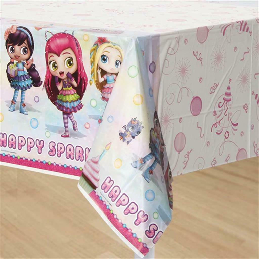 Primary image for Little Charmers Plastic Table Cover Birthday Party Supplies 1 Per Package New