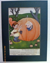 VINTAGE ILLUSTRATION FROM LITTLE BROWN & COMPANY CATALOG - $5.90